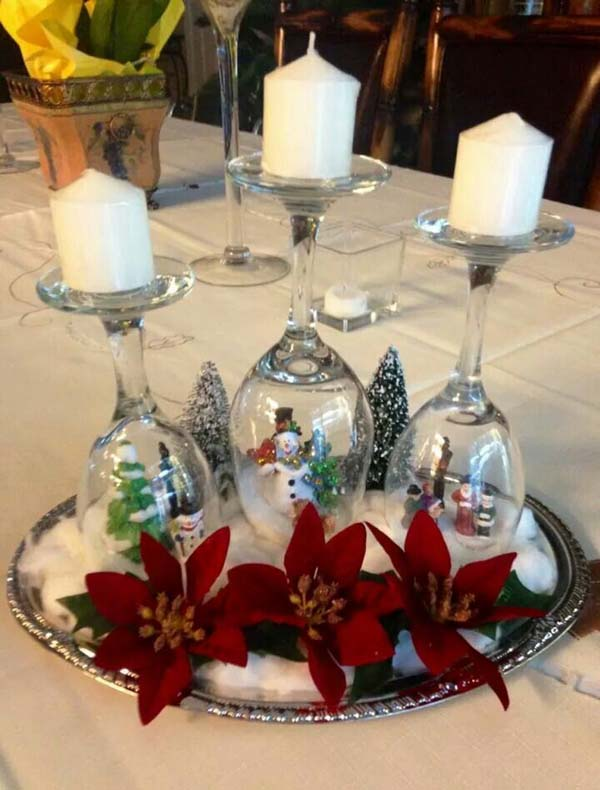 christmas table decoration ideas image4