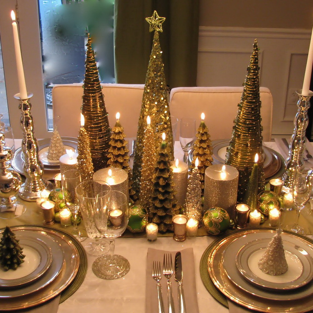 Christmas Table Decoration Ideas : perfect christmas table setting - pezcame.com